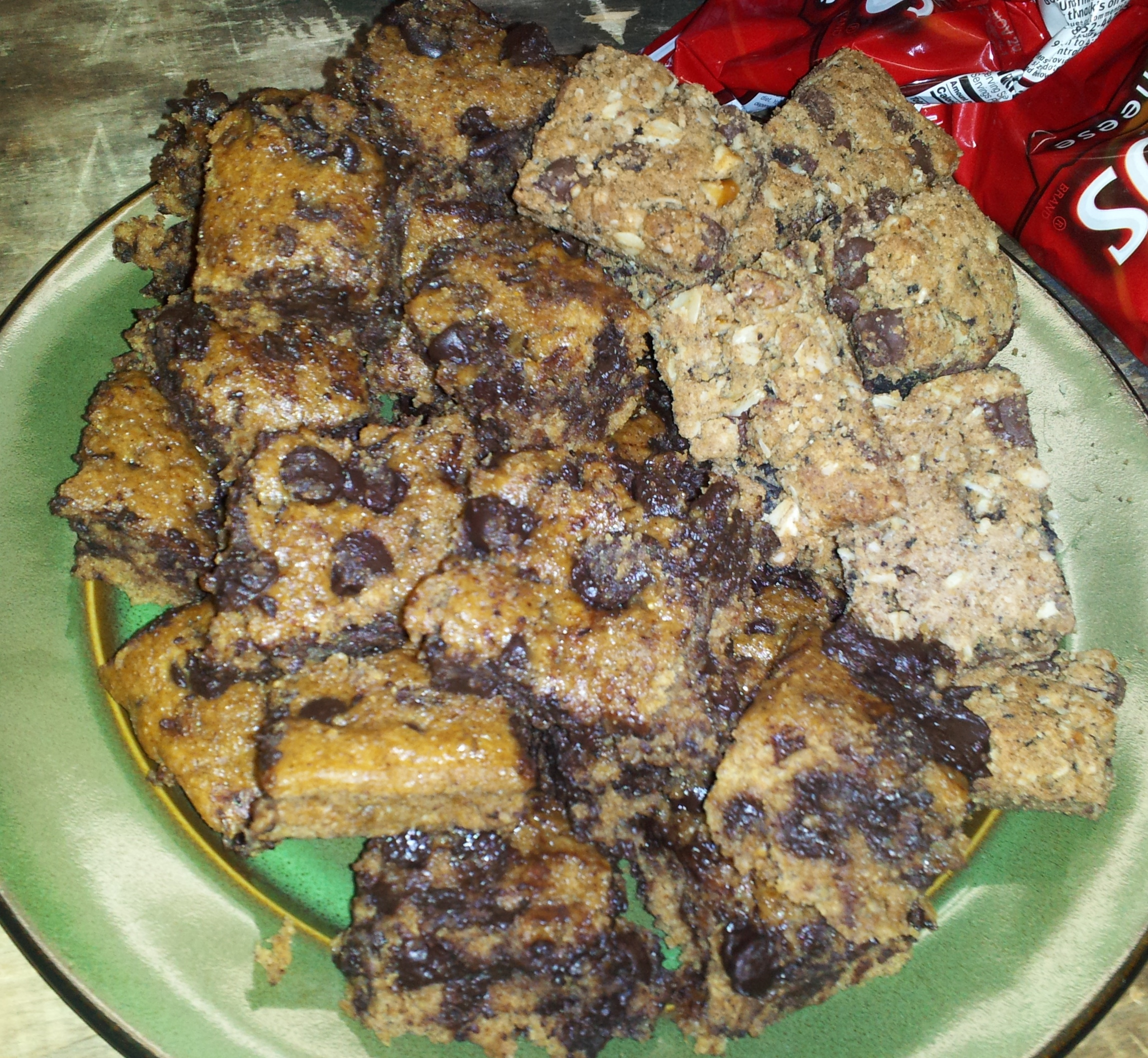 Chocolate Chip Bars & Peanut Butter Oatmeal Chocolate Chip Bars ...
