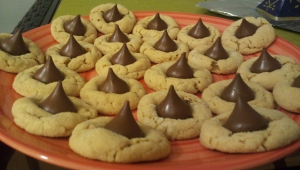 Peanut Butter Kiss Cookies!