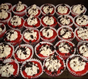 Red Velvet Cheesecakes!