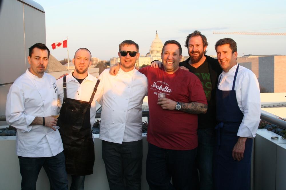 Chefs & Founder: Mike Isabella, Bryan Voltaggio, Jeff Buben, Haidar Karoum, Kyle Bailey, Brady Lowe