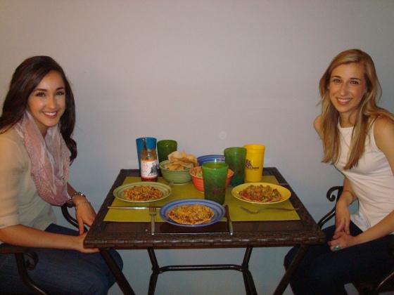Dinner w/ Friends!
