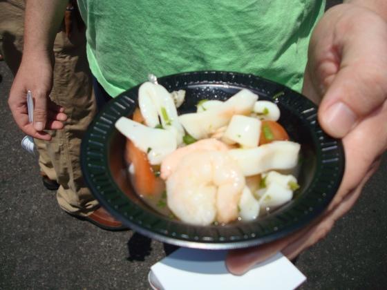 Sea Catch Calamari & Shrimp Ceviche