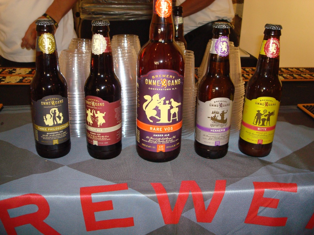 The Ommegang Beers