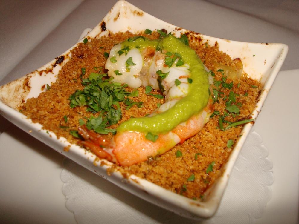 mini penne /jack& cheddar / garlic shrimp / jalapenos