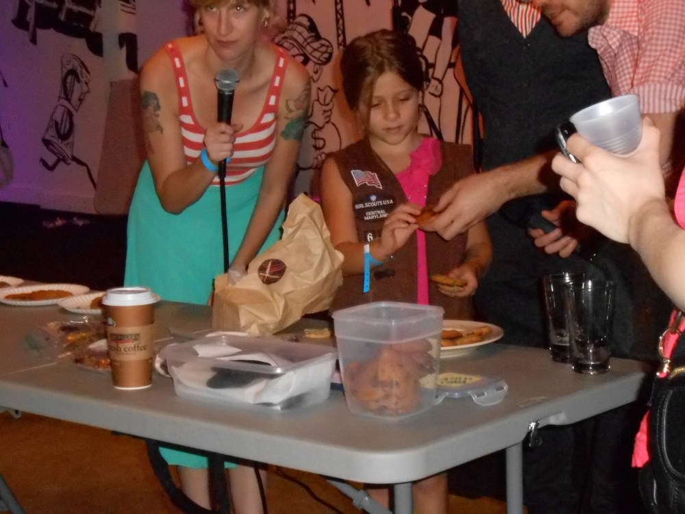 Amateur Cookie Competition Girl Scout