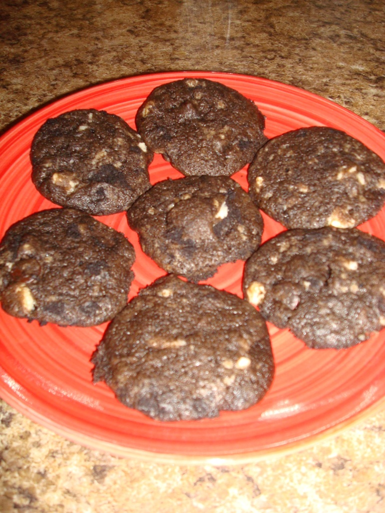 Chocolate Baileys Cookies!