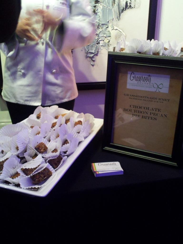 Grassroots Gourmet Chocolate Bourbon Pecan Pie Bites