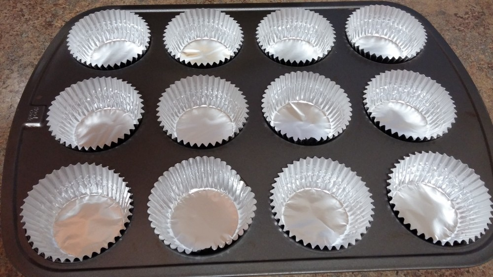 foil liners in baking pan