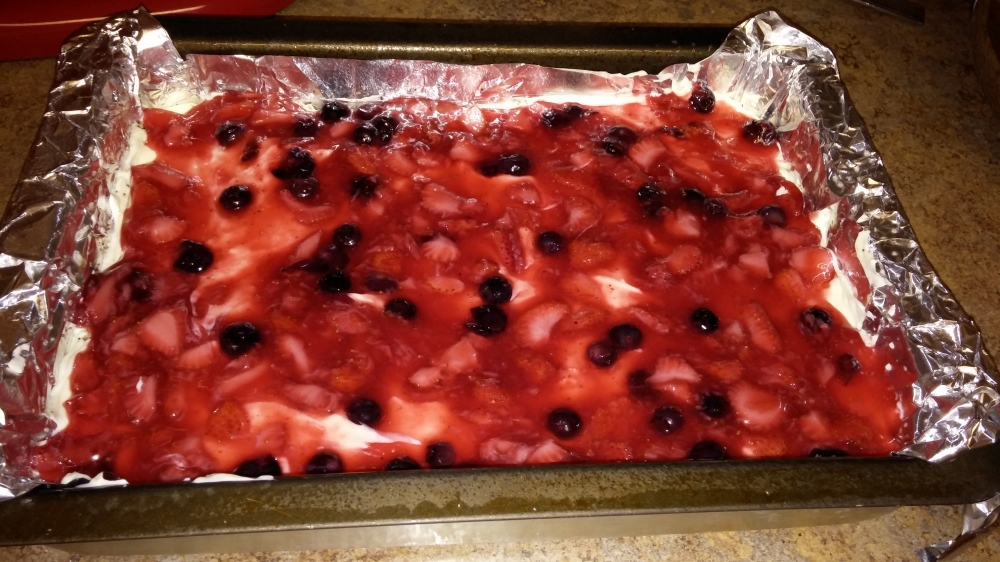 layer two berries
