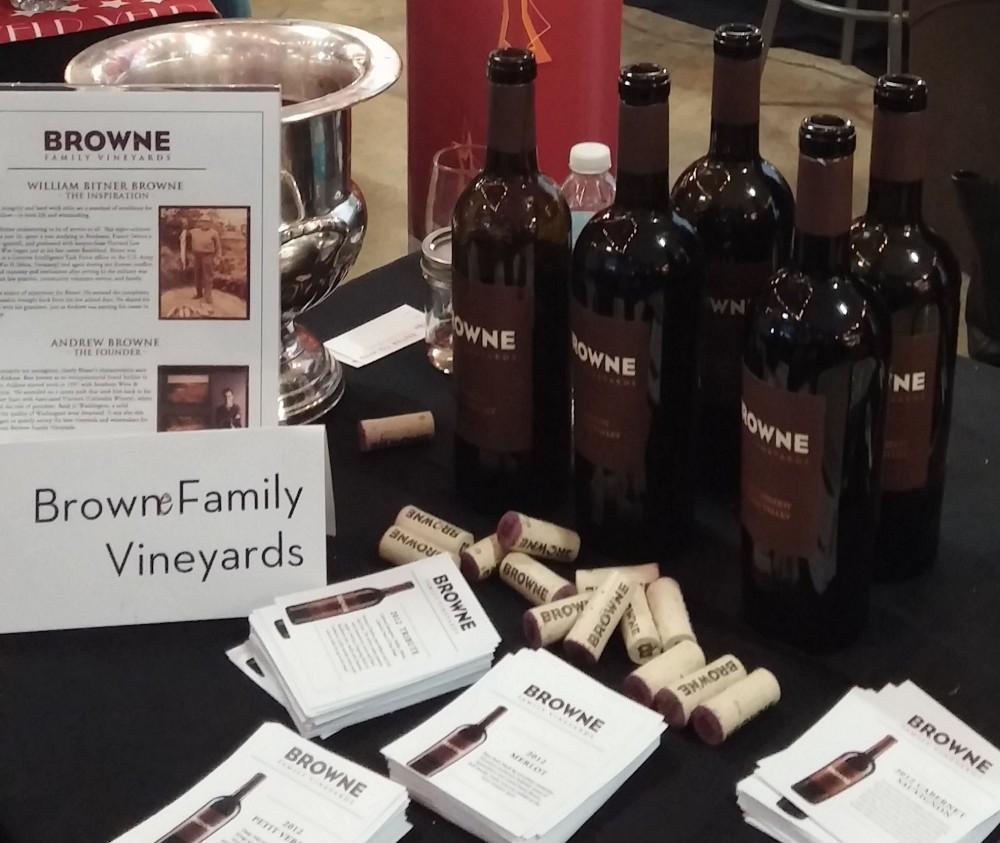 Browne Family Vineyards Petit Verdot