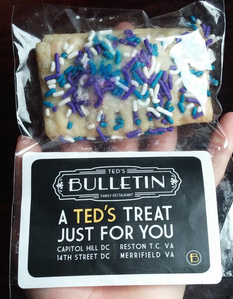 Teds Bulletin poptart