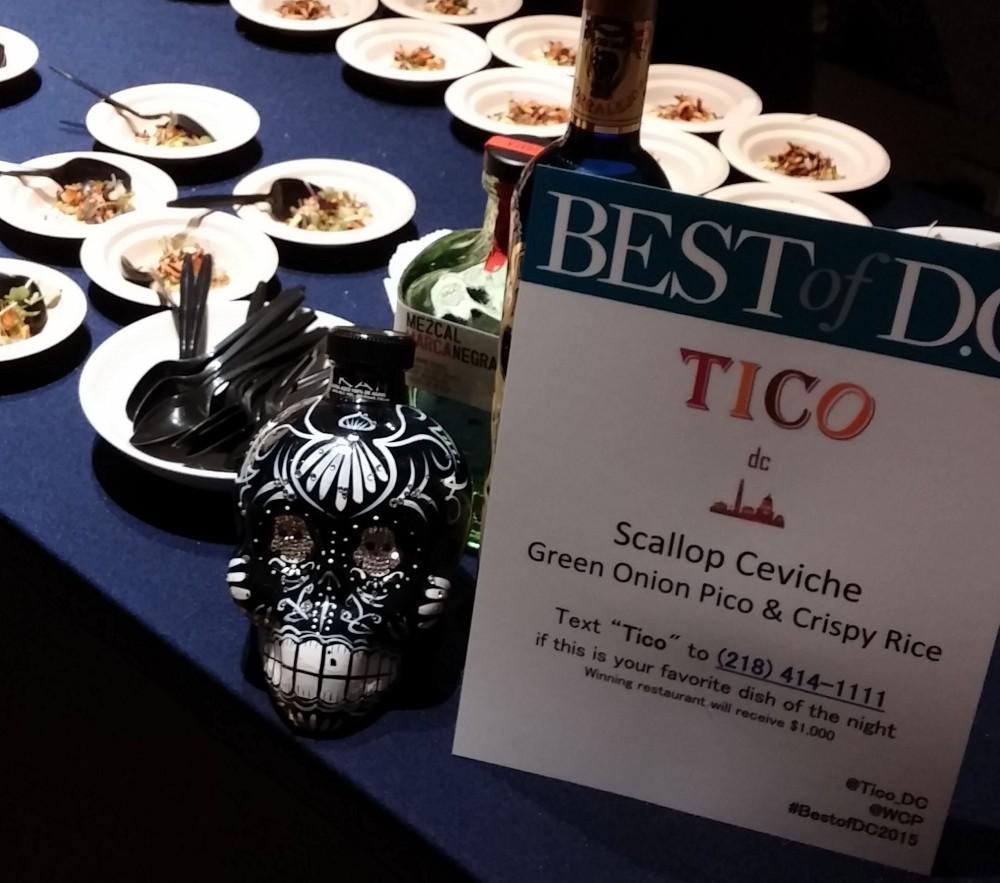 Tico Scallop Ceviche