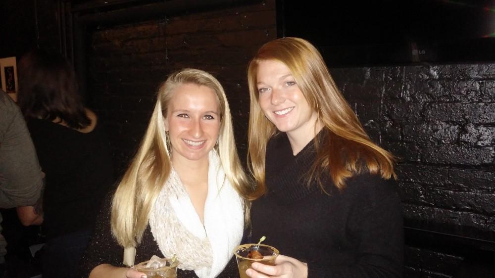 Rachel Mastandrea and Tara Sulewski
